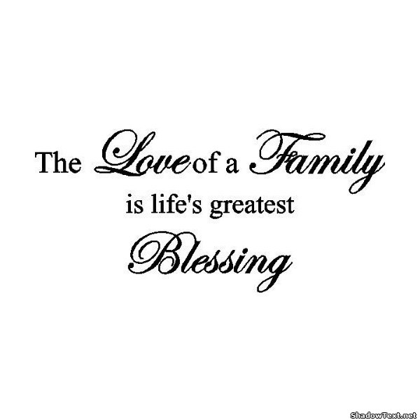 Quotes About Family Love Brilliant Love Of A Family Quote Generator  Quotesandsayings