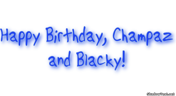 Happy Birthday Lettering Maker ~ Happy birthday champaz and blacky quote generator shadow text
