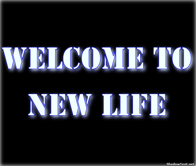 Welcome To New Life Quotes: Quote Generator Shadow Text